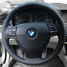 font b Steering b font Wheel Leather font b Cover b font Case for BMW