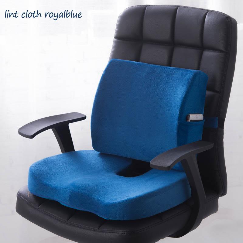 HTB17N3APCzqK1RjSZFpq6ykSXXaJ Car Seat Cushion Mat Coccyx Orthopedic Memory Foam Chair Massage Mat Back Cushion Pad Office Nap Therapy Callipygian Cushion