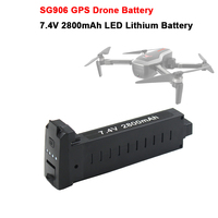 SG906 GPS RC Drone Battery 7.4V 2800mAh LED Lithium Battery Spare Part Accessories for SG906 Brushless GPS 5G Wifi PFV Drone