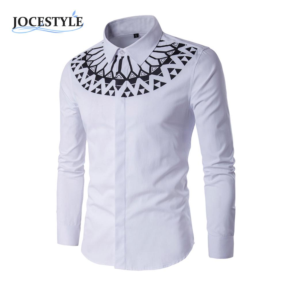 c3a4eb90ff9 NEW Stylish Mens Casual Slim Fit Long Sleeve Casual Formal Dress Shirts  Boutique Cotton Business Shirts Solid color -in Dress Shirts from Men s  Clothing   ...