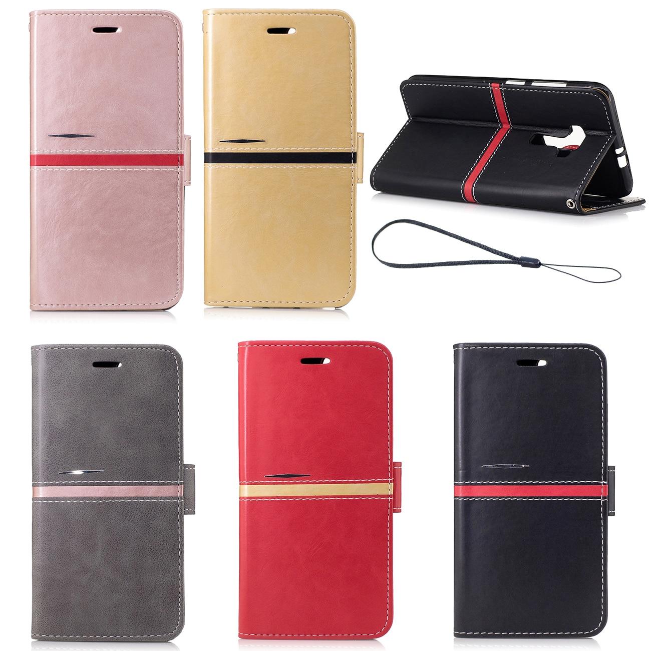 Искусственная кожа флип Чехлы мешок для Asus Zenfone 3 ZE552KL мягкие Бумажник Обложки с ID слота ремешок 5.5 inchess телефон оболочки