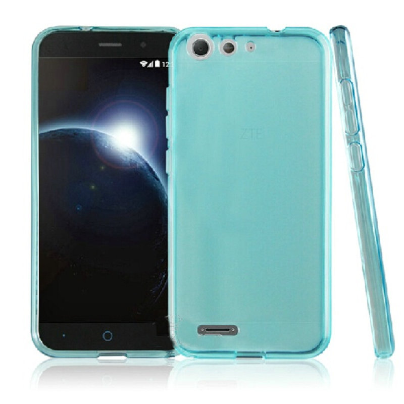 New Protective Soft Tpu Silicon Case Cover For Zte Blade