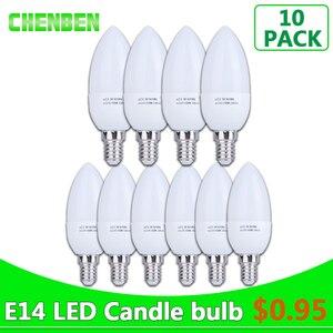 10pcs E14 LED Bulb Light 220V