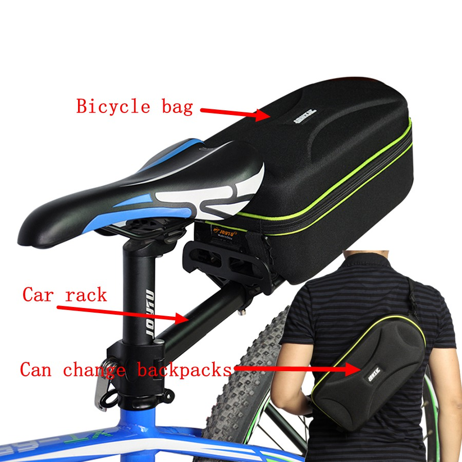 Mountain Road Bicycle Bag Multifunction 28L Bike Tail Rear Bag Black Cycling bike panniers Rear Rack Tail Seat Trunk Bag Pannier waterproof bicycle rear seat trunk bag 50l pair bike saddle panniers bicycle pannier rear seat trunk bag for cycling