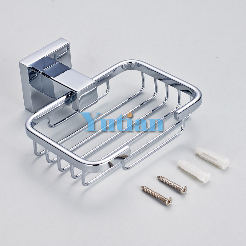 Solid Stainless Steel Bathroom Accessories Set Soap Dish Basket Free Shipping Yt11390 From Reliable Suppliers On Hotaan China