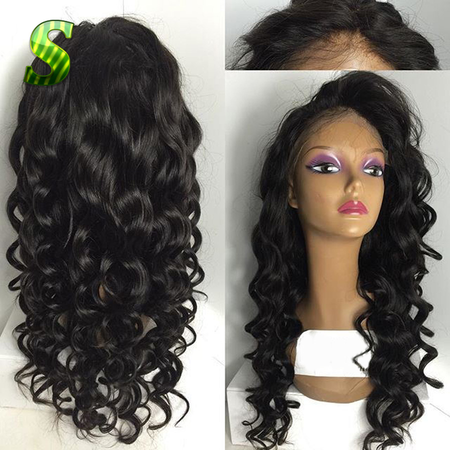 Malaysian Human Hair Lace Front Wigs 44
