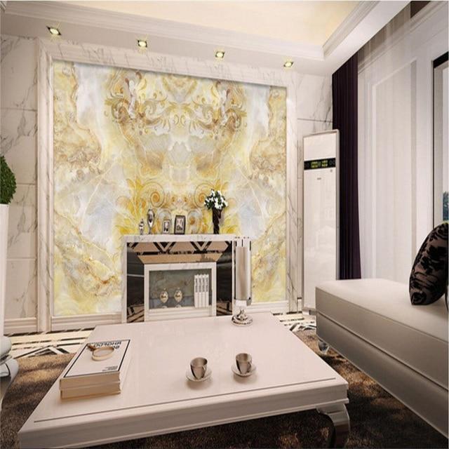 Beibehang Schmetterling Marmor Tv Hintergrund Schlafzimmer