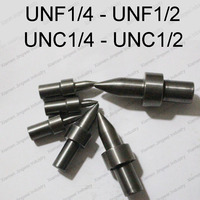 Hartmetall runden typ fluss drill America system UNC/UNF 1/4 5/16 3/8 7/16 1/2