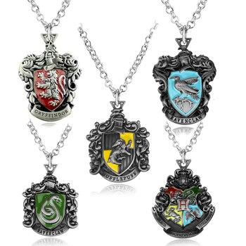 Harry Potter Hogwarts Houses Necklace  1