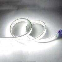 Светодиодный полосы света 220 V SMD 5730 Гибкая ленточная 5630 120 светодиодный/м, 1 м, 2 м, 3 м, 5 м, 6 м 8 M 9 m 10 m + Мощность штепсельная вилка европейского с...