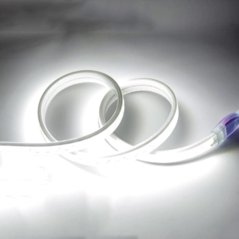 Led Strip Light 220V SMD 5730 Flexible Tape Ribbon 5630 120LED/M 1m 2m 3m 5m 6m 8m 9m 10m + Power EU plug