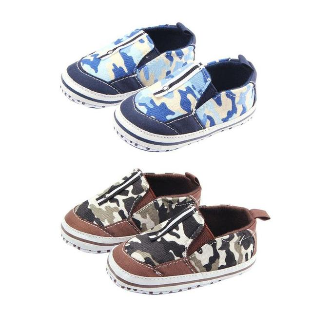 db64a27ee2735 Baby Prewalker Casual Shoes Camo Print Non-Slip Rubber Sole First Walkers  Toddler Baby Shoes