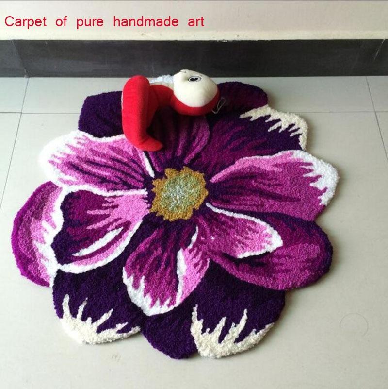 Online kopen Wholesale Paars tapijt voor slaapkamer uit China ...