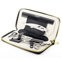 2015 Hot Sale Professional Barber Scissors Set Salon Hairdresser Shears JP440C Cutting Scissors Regular Thinning Scissors