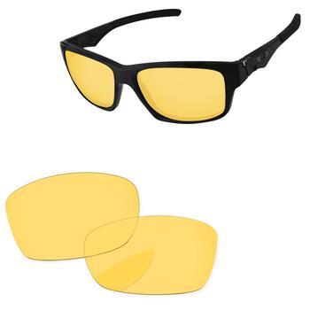 f98992847 De cristal amarillo lentes de recambio para Júpiter cuadrado gafas de sol  marco 100% UVA y UVB protección