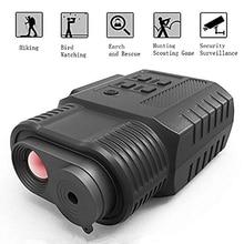 Dispositivo de visión nocturna Digital infrarroja 3.5X de aumento IR de mano Monocular de vídeo y videocámara de día de uso nocturno para caza