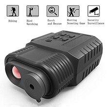 Infravermelho digital dispositivo de visão noturna 3.5x ampliação ir handheld câmera de vídeo monocular & filmadora uso da noite dia para a caça