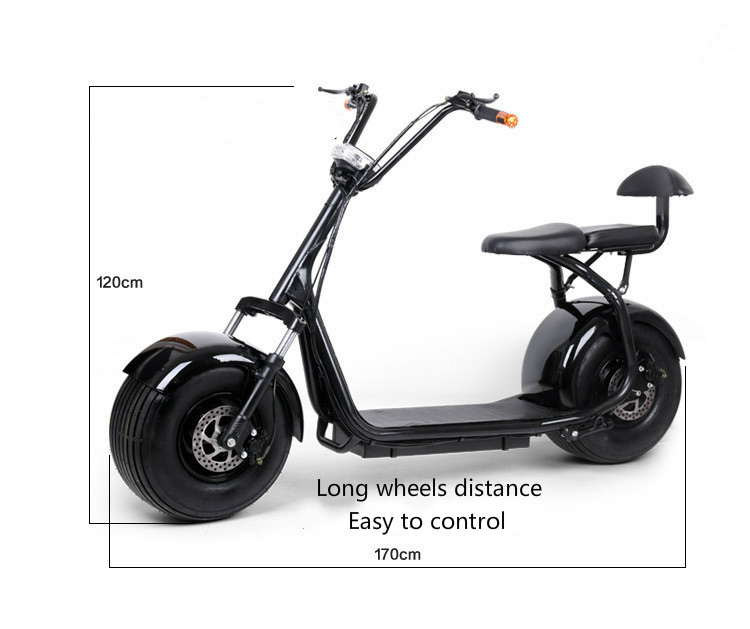 Harley electric bicycle scooter car electric balance Adult walking ebike lithium battery 48V 2 wheel electric balance scooter adult personal balance vehicle bike gyroscope lithuim battery