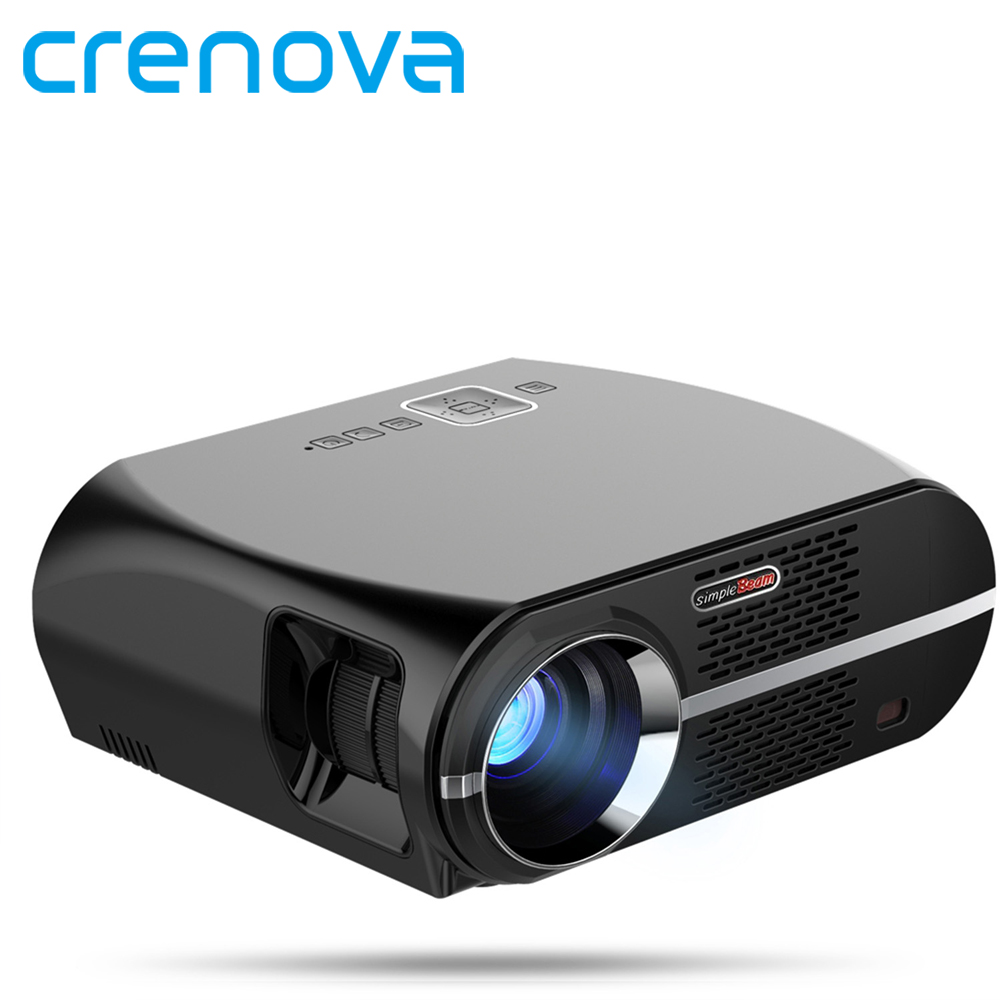 Crenova gp100 проектор Full HD Родной 1280*800 Поддержка 1080 P HDMI USB VGA 3500 люмен видео светодиодный проектор для дома Театр