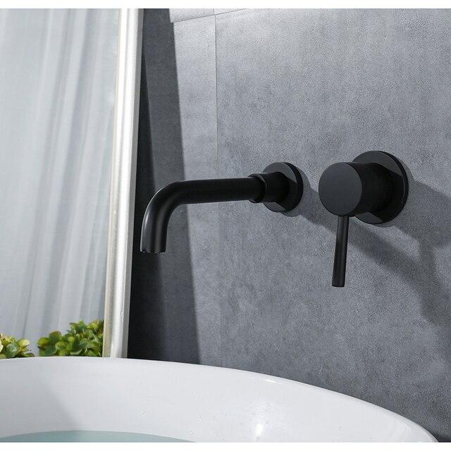 Bad Waschbecken Wasserhahn Messing Waschbecken Wasserhahn Wand
