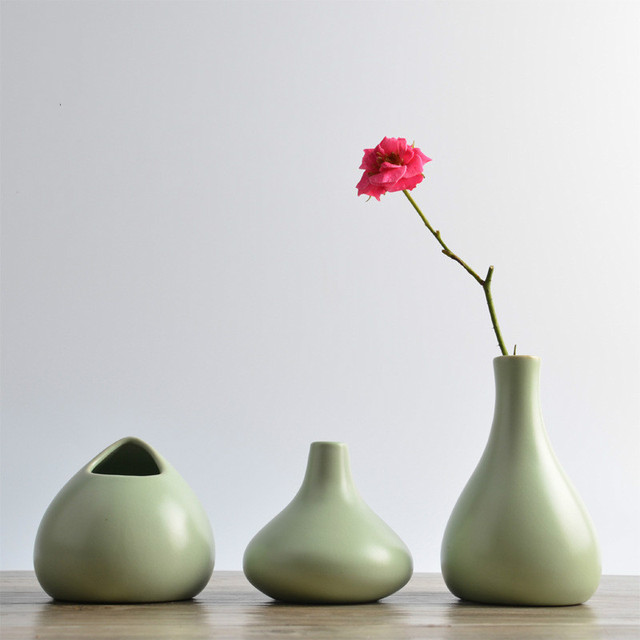Saideke Home Decor Furnishing Mini Flower Decoration Vases Flower