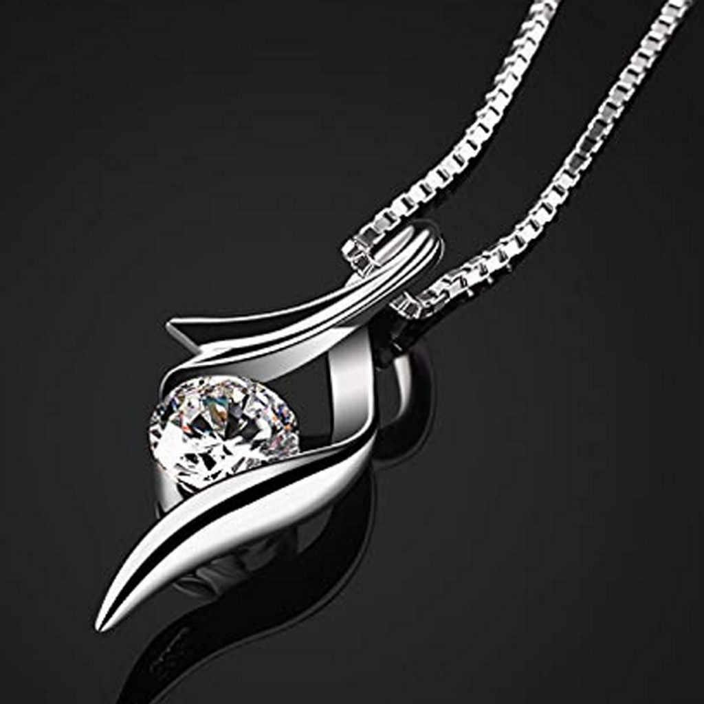 תכשיטים קסם כסף מצופה תליון חלול שרשרת אלגנטי רטרו אין תיבה הקמעונאי. ארוז בבטחה בבועת תיק