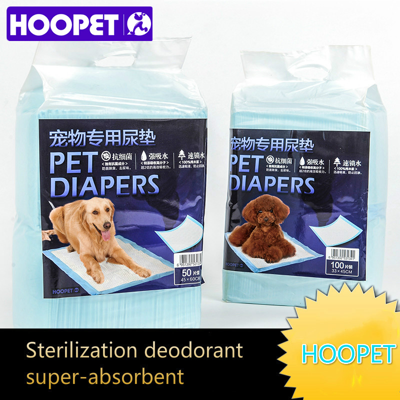 HOOPET Pet Dog Thicken Diapers Super Absorbent Deodorization Urinal Pad Disposable Diaper