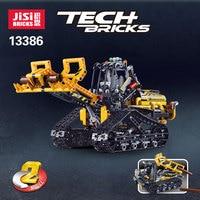 827pcs Decool Technic 2in1 Compatible legolys Technic Tracked Loader city model building blocks bricks boys Toys childrens 42094