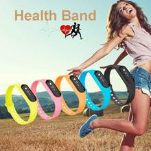2016 New Health Bluetooth Smart Wristband Monitors Setting Step Activity Tracker Sports Heart Rate Fitness Tracker Bracelet C6