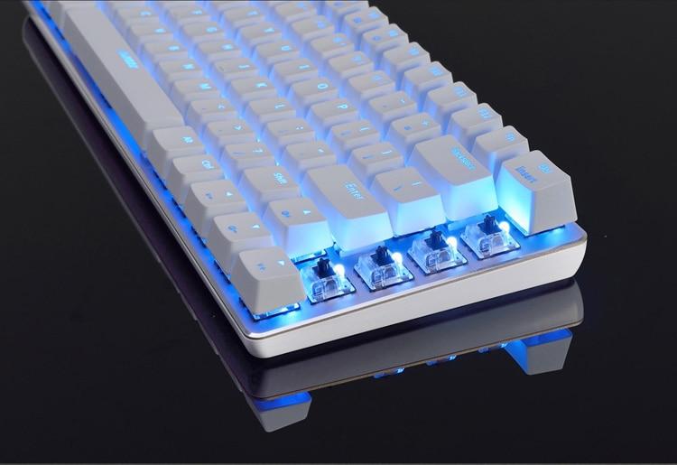 mechanical keyboard white