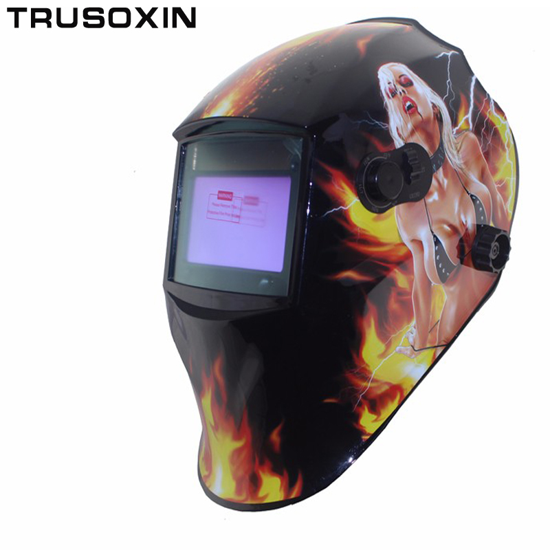 Sexy DIN5-DIN13 shading eara Solar auto darkening TIG MIG MMA welding mask/helmets face mask welder goggles/eye protect mask/cap недорого
