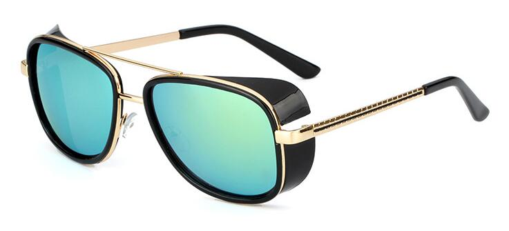 480afa8397 Dropwow Gafas Tony Stark Iron Man Sunglasses Men Luxury Brand ...