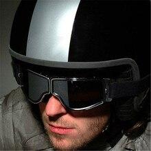 Новейшие винтажные кожаные мотоциклетные очки складные Harley очки винтажные мотоциклетные очки Jet Pilot 4 цвета солнцезащитные очки