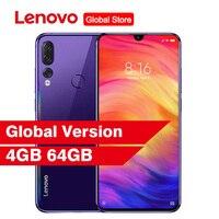 "Lenovo Z5s Face ID Notch Screen 6.3"" Android P Smartphone 4GB 64GB Triple Rear Camera Snapdragon 710 Octa Core  Mobile Phone Lenovo Phones"