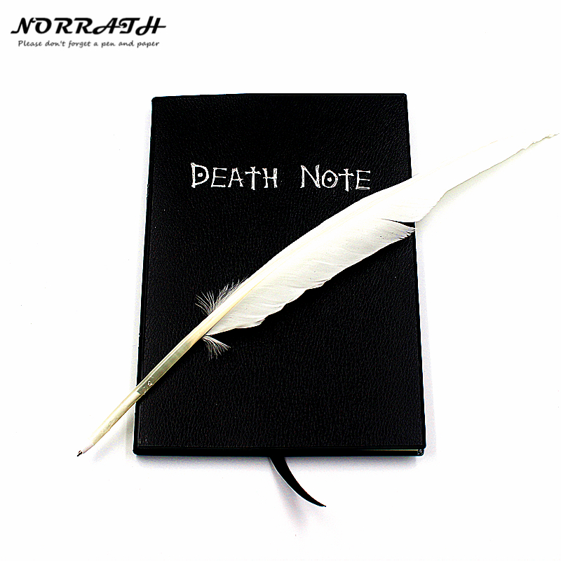NORRATH Hot Fashion Anime Theme Death Note Cosplay Notebook New Fashion School Supplies Writing Journal Best Gift For Birthday