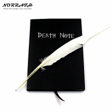 NORRATH Hot Fashion Anime Téma Death Note Cosplay Notebook Új divatiskolai kellékek írása Journal Legjobb ajándék a születésnapjára