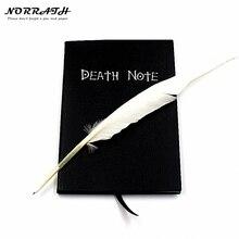 Ограниченное предложение Норрата Горячая Мода аниме тема Death Note Косплэй Тетрадь Новая мода школьные принадлежности записи журнала Best подарок на день рождения