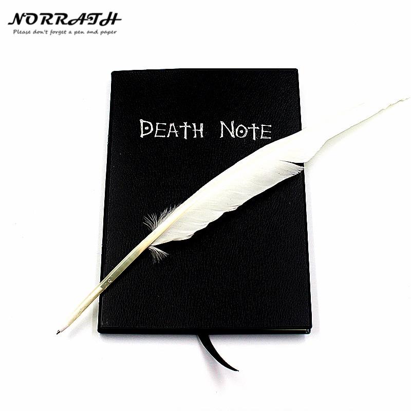 NORRATH caliente moda Anime tema la nota de muerte Cosplay Notebook nueva moda de la escuela diario el mejor regalo de cumpleaños