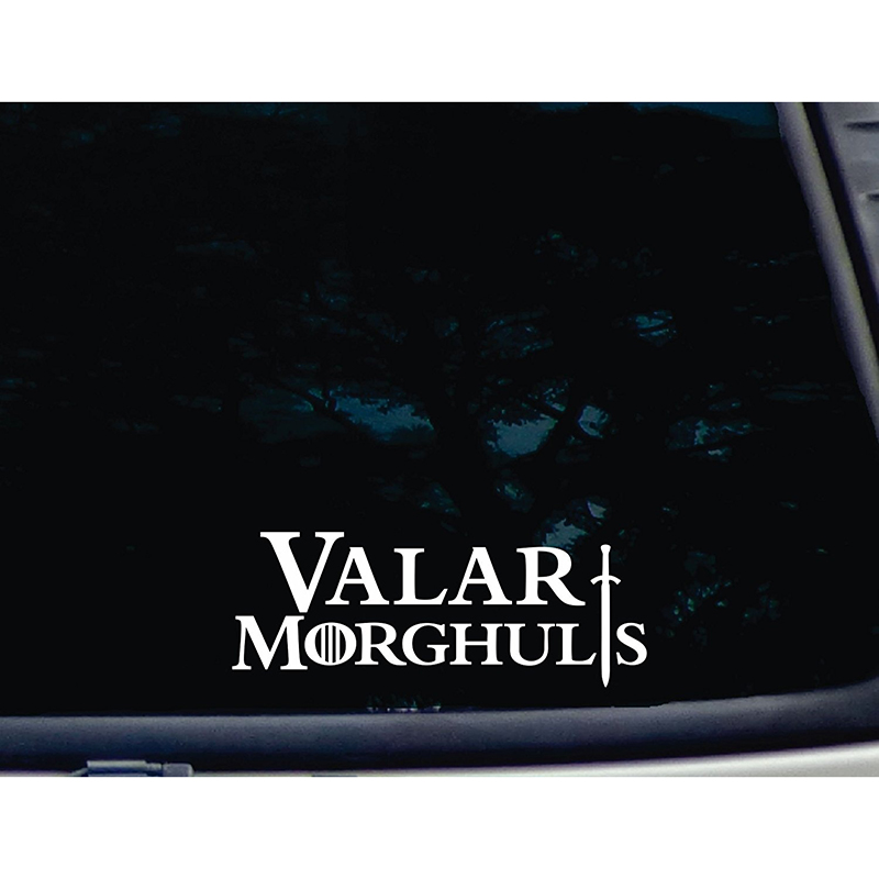 Game Of Thrones Stickers Valar Morghulis 8