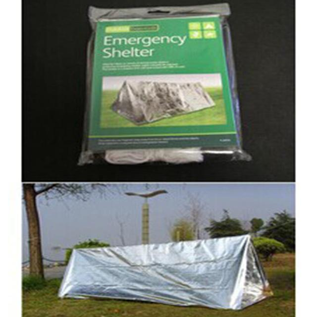 Outdoor Emergency Canopy Exhibition shelter Tents Camping Survival Tools Warm Reserve Tents Camping awning