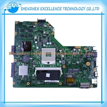 Original For ASUS motherboard K54LY REV 2.1 HM65 laptop 8pcs video card K54LY Mainboard work perfect & 45 Days warranty