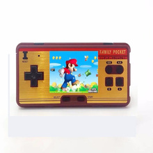 Mini Retro Portable Handheld Game Player Family Pocket Built In 638 Games 8 Bit Video Console Durable Best Gift