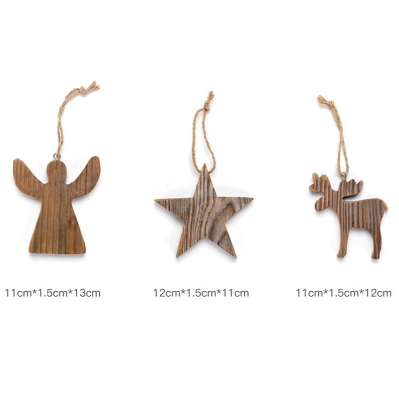 1 Pcs Pendant Delicate Exquisite Deer Design Attractive Cute Tree Pendants For Decoration Festival Chirstmas Tree image