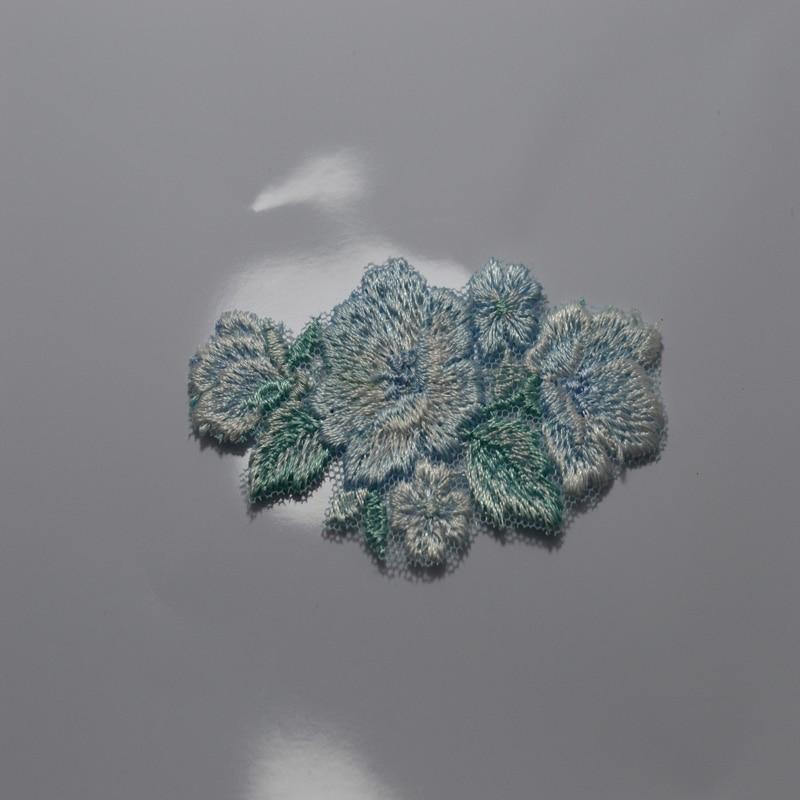 Envío gratis 8.5 * 4.5 cm (3 piezas / lote) parches de color azul - Artes, artesanía y costura - foto 3