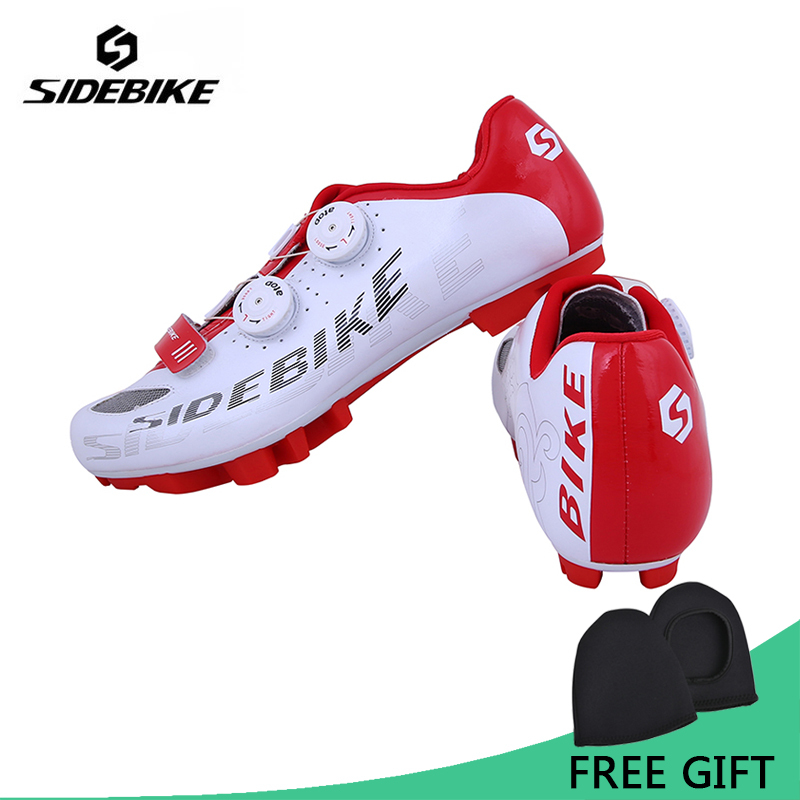Sidebike Professional Bicycle Cycling Shoes Mountain Bike S2-Snap Knob Racing Athletic Shoes Breathable MTB Self-Locking Shoes цена