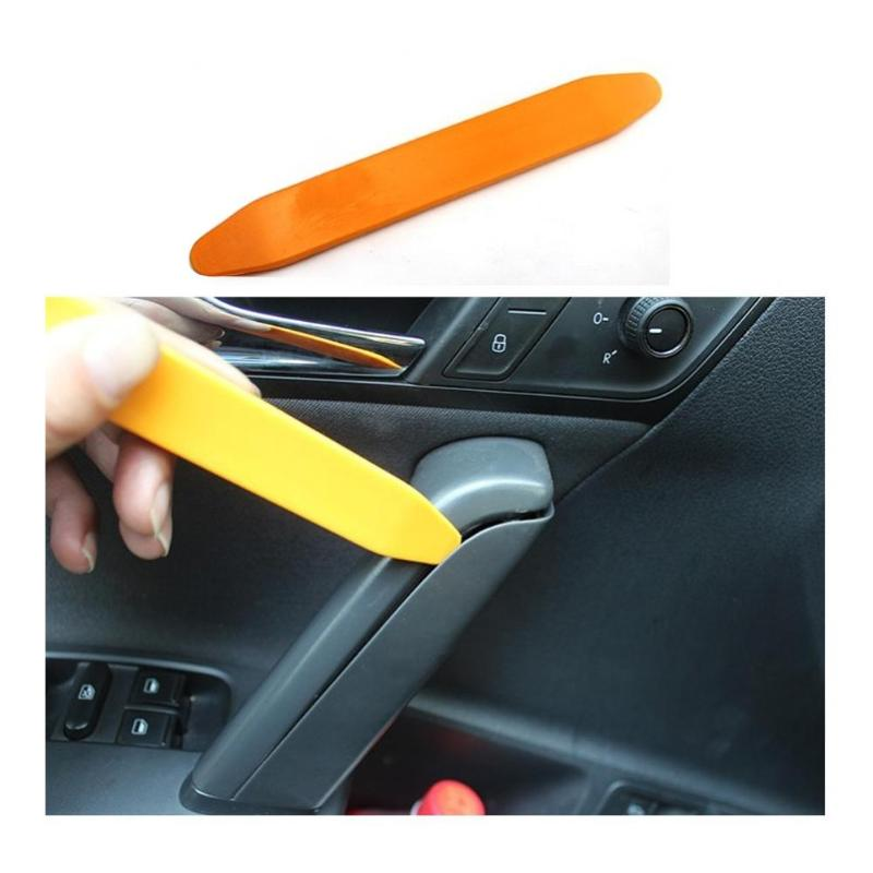 4Pcs DIY Car Disassembly Interior Kit Audio Plastic Removal Trim Panel Dashboard DVD Player Auto Tool