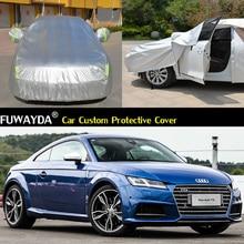 Автомобиль охватывает Anti UV снег, дождь царапинам автоматический автомобиля Чехлы для Audi TTS