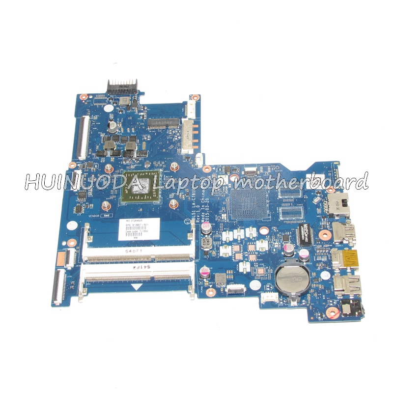 NOKOTION Original 813967-501 Laptop Motherboard for HP 15-AF 818060-601 ABL51 LA-C781P A6-6310M CPU Mainboard WORKS 815248 501 main board for hp 15 ac 15 ac505tu sr29h laptop motherboard abq52 la c811p uma celeron n3050 cpu 1 6 ghz ddr3