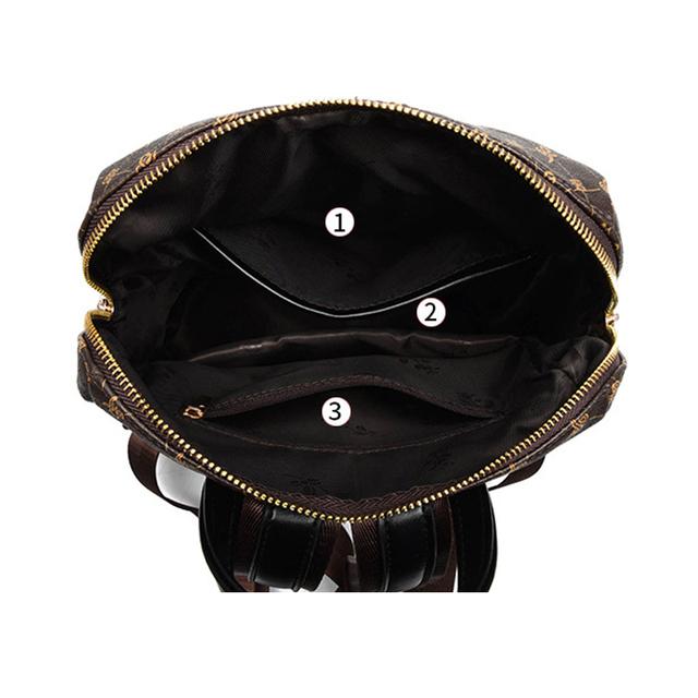 Læder rygsæk kvindelig