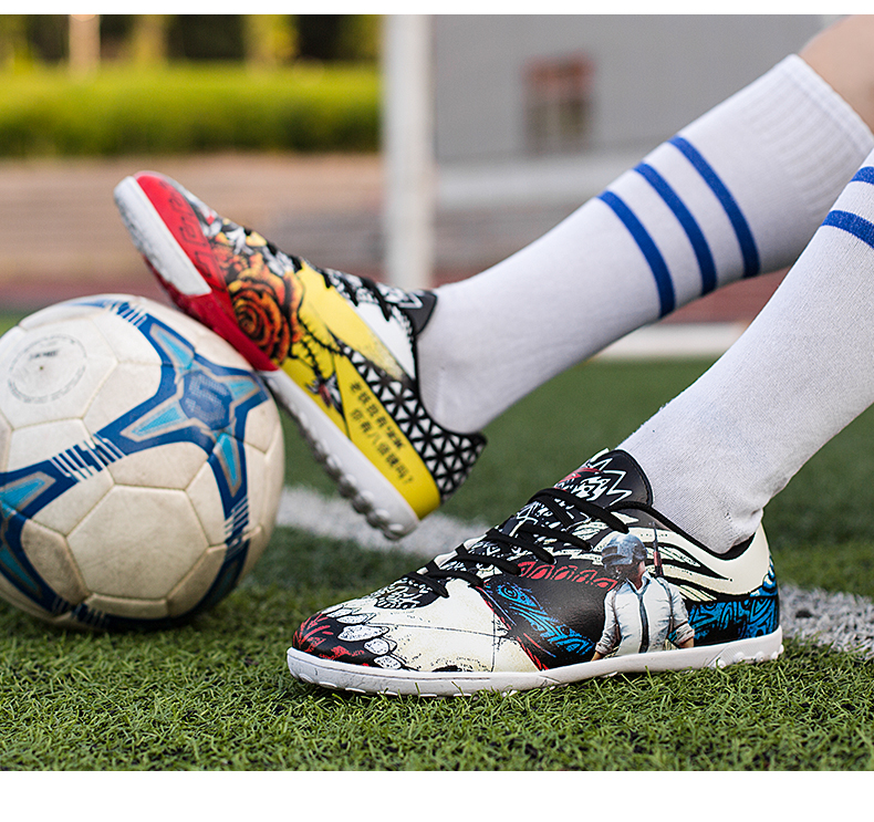 0c30930b69c New Men Boys Kids SG Soccer Cleats Man Soccer Boots Anti-skid Cushioning  Soccer Training Shoes Outdoor Grass Football ShoesUSD 39.99 pair